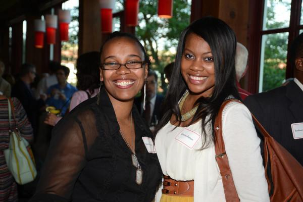 Pullman Scholars Shervon Coleman (2004) and Catrina Patton (2011)