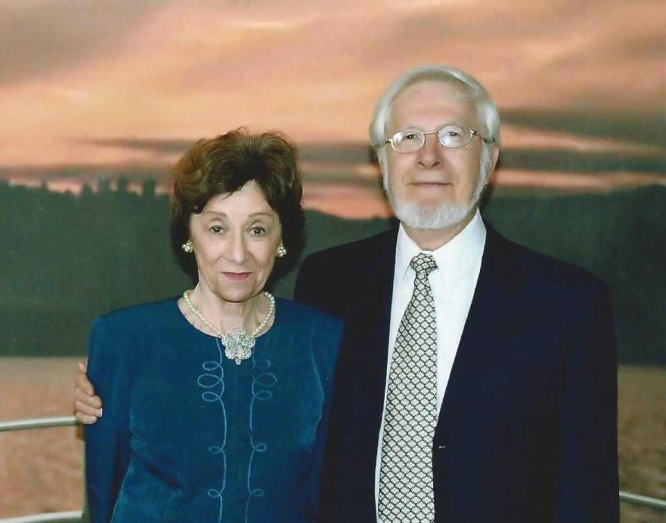 With a scholarship from the Pullman Foundation, both Christine and George Gloeckler graduated from the University of Chicago in 1960