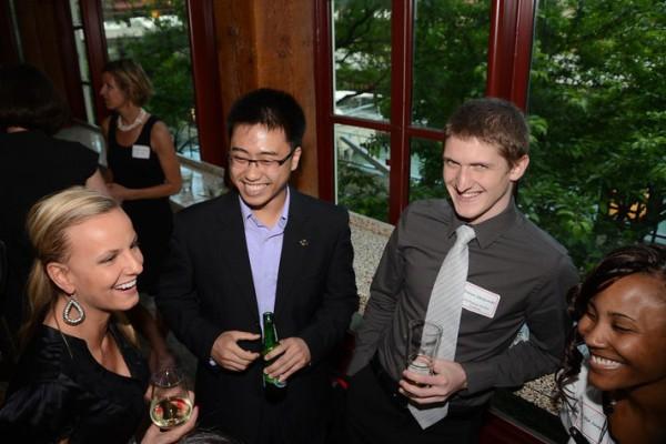 Pullman Scholars Olimpia Pietraszewski (2008), Andy Yu (2013), Dariusz Jakubowski (2013), and Tiffini Joseph (2011)