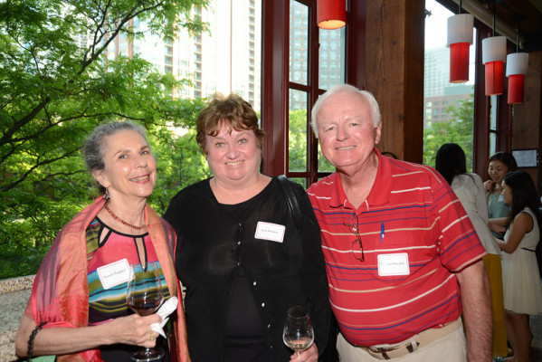 Pullman Scholars Pamela Ruggieri (1965), Joan Meagher (1967), and Thomas Meagher (1967)