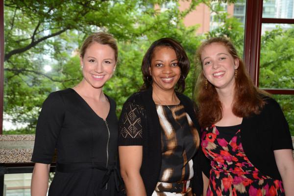 Foundation staff members Sara Gove, Lisa O'Banner, and Megan McGinnity